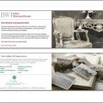 no. 3: bw berliner wohnungsauflösungen / flyer kreation: sabine schmitt